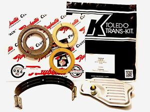 4R70W 4R75W TRANSMISSION REBUILD KIT 2004 & UP with Clutches & Borg Band