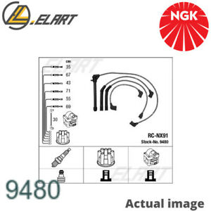 IGNITION CABLE KIT FOR NISSAN MAXIMA III J30 VG30E MAXIMA II SALOON J30 NGK
