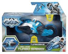 Max Steel Turbo Bike With Attached Figure & Flashing Lights - Y1406 - New