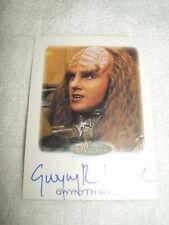 Star Trek Autograph Card Women of Gwynyth Walsh as B'Etor in Generations