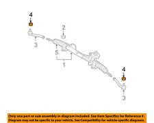 GM OEM Steering Gear-Outer Tie Rod Nut 94515401
