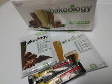 NEW Shakeology Vegan Barista Packets! BeachBody Sealed Chocolate Cafe Energize