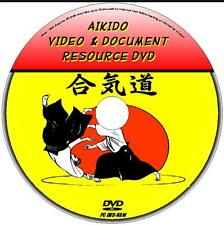BEST yoshinkan AIKIDO risorsa didattica PC DVD-ROM raccolta di video e libri nuovi