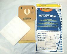6 Electrolux Renaissance Canister Vacuum Cleaner Style R filter Bags 9000 8000