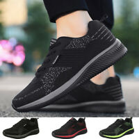 Mens Running Casual Shoes Jogging Lightweight Outdoor Breathable Tennis Sneakers