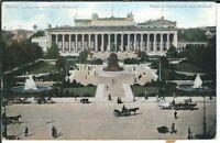 Ansichtskarte Berlin - Lustgarten mit königl. Museum / Kutschen - coloriert -alt