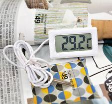 Digital LCD Fridge Thermometer Aquarium Refrigerator Temperature Sensor Meter