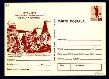 ROMANIA - Cart. Post. - 1977 - Centenario della Guerra d'Indipendenza