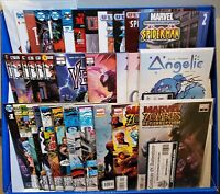 LOT OF 40 MARVEL ZOMBIES CARNAGE & MORE COMICS (DC INDY) SIGNED JOHNSON SPURRIER