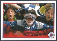 PANINI-FOLLOW FOLLOW THE GERS 2001- #151-RANGERS-SCREAMING BLUE MURDER...