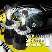 488W 48800LM COB LED Headlight Kit H4 HB2 9003 Hi/low beams HID 6000K Bulbs