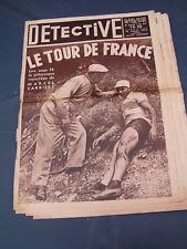 Détective 1935 351 Tour de France YVETOT BORMES LES MIMOSAS BOURBONNE LES BAINS