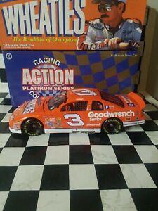 HUGE! ACTION 1:18 Dale Earnhardt Sr #3 WHEATIES 1997 VINTAGE Die-Cast NASCAR