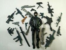 "3.75"" Gi Joe  Night attacker  #01 With 5pcs Accessories Rare Figure Gift"