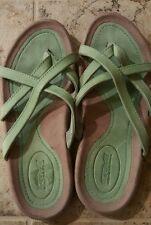 Rare color Teva sandals,  mint green, size 7