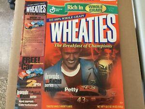 Wheaties box 43 Richard Petty Legends of Racing NASCAR THE KING Pontiac 2001 18z