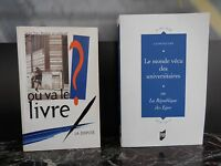 Où va le livre ? Le monde vécu des universitaires ARTBOOK by PN