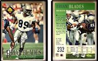 Brian Blades Signed 1994 Pro Line Live #232 Card Seattle Seahawks Auto Autograph