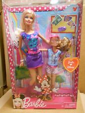 2011 BARBIE  AND HER SISTER LOVE DISNEY......NRFB