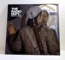 THE RADIO DEPT. Running Out Of Love CLEAR VINYL LP Sealed LIMITED EDITION