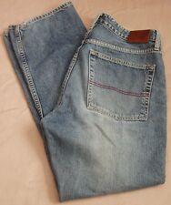 Tommy Hilfiger Red Label Denim Jeans Freedom Fit Size 33x30 5-Pocket *Distressed