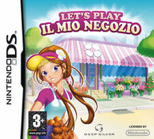 LET'S PLAY - IL MIO NEGOZIO - NINTENDO DS - RARO - NUOVO SIGILLATO ITALIANO