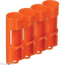 "Storacell Powerpax ""AA"" Orange Slimline Battery Caddy- Organizes 4 Batteries"