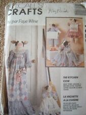 McCalls Sewing Pattern 7029 The Kitchen Cow Towel Holders Toaster Covers