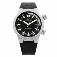 IWC Aquatimer Stainless Steel Black Dial Automatic Mens Watch IW3548-07