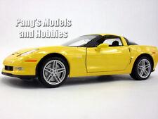 Chevrolet Corvette Z06 (2007) 1/24 Scale Diecast Metal Model - YELLOW
