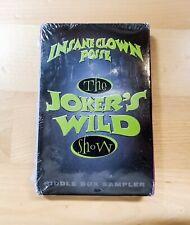 Vintage Rare ORIGINAL 1995 ICP Joker's Wild Cassette Riddle Box Sampler SEALED