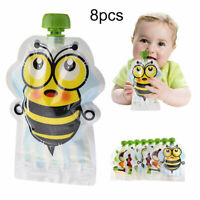 Kopjes, schotels, keukengerei Overig ❤❤❤BABY FOOD POUCH 6 Pack for Homemade Organic Foods Reusable Country Animals