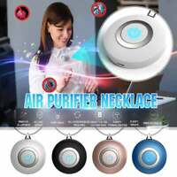 Wearable Mini Air Purifier Necklace Ionizer Ion Generator Odor and Smoke