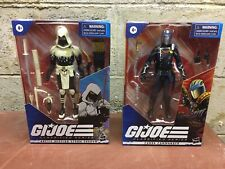 Gi Joe Classified Arctic Storm Shadow Cobra Commander Lot Amazon Exclusive
