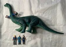 Vintage Dino Riders diplodocus Tyco 1987 Incomplete Set Lot Working!