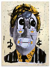 BAST - LIMONATA - Hand Finished Signed Print street art faile brainwash obey mbw