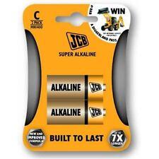 5x 2 Pack of C SIZE JCB MN1400 / R14 1.5V SUPER ALKALINE Batteries for Household