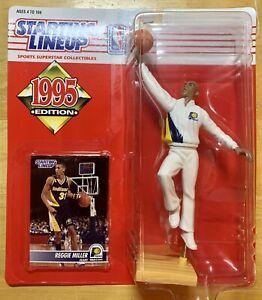 1995 STARTING LINEUP - SLU - NBA - REGGIE MILLER - INDIANA PACERS - NEW!!!