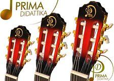 CHITARRA CLASSICA  3/4 PRIMA DIDATTIKA COLORE RED SUNBURST PER ISTITUTI STATALI