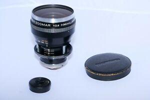 Voigtlander Ultramatic Zoomar 36-82mm f/2.8 zoom lens. D-SLR and Mirrorless