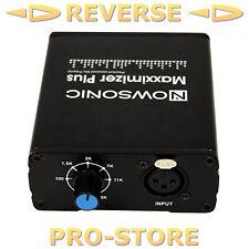Nowsonic Maxximizer Plus Mikrofonvorverstärker Verstärker Mikrofon Studio