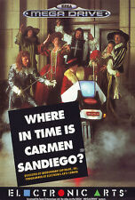 # Sega Mega Drive-where in time is Carmen Sandiego-Top #