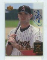 CHRIS BURKE 2001 Upper Deck Prospect Premieres Rookie Auto Autograph #D /1000