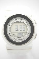 CASIO BGD105-7 BABY-G DIGITAL DIAL White  SPORT WATCH White Resin Band