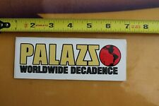 Palazs Worldwide Decadence Palace Clothing C2 Vintage Surf Skate Style Sticker