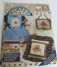 New listing Nip Daisy Kingdom No Sew Appliques Animal Crackers Noah's Ark