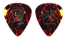 Billy Idol Signature Brown Faux Tortoise Guitar Pick - 2005 Tour