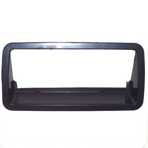 New Outside Tailgate Handle Bezel / Trim Smooth Black Exterior Rear
