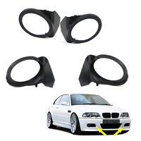 Marcos para tapas de antiniebla de parachoques M3 para BMW E46 Cabrio Coupé