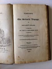 Shillibeer - Narrative of the Briton's Voyage, to Pitcairn's Island, 1st edition